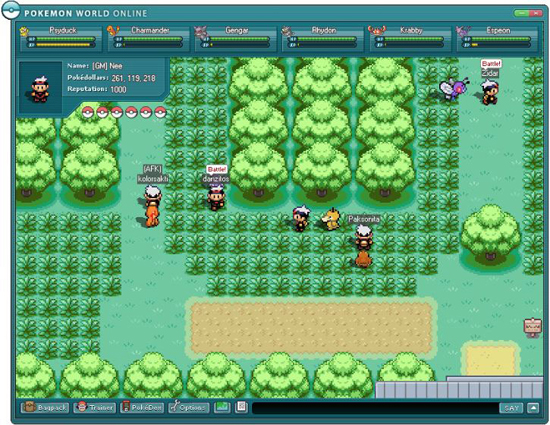 pokemon spiele online
